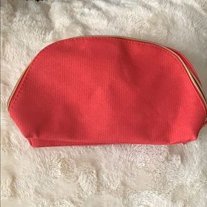 Lancôme makeup bag.